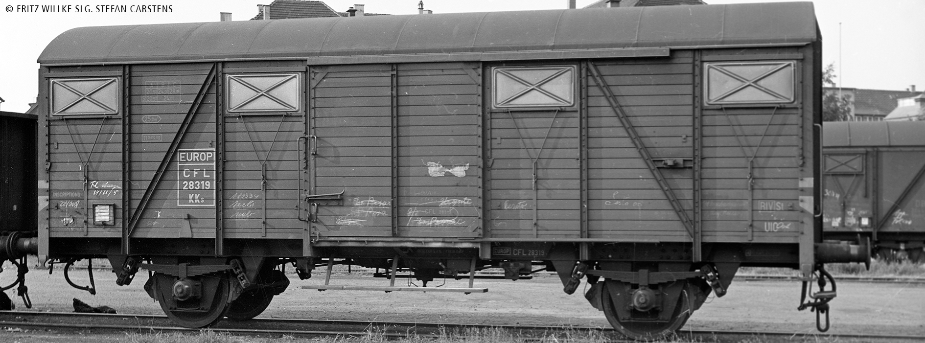 BRAWA 49507 Offener Güterwagen Eds der CFL H0 IV